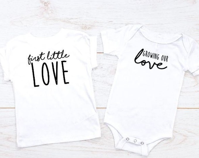 Growing our love sibling announcement