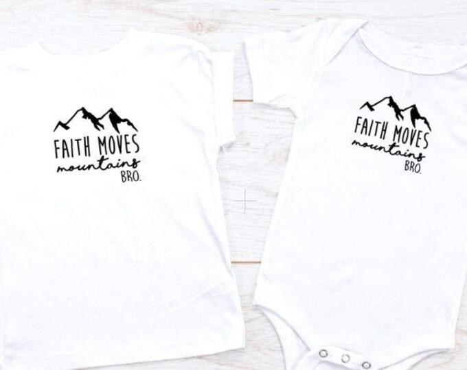 Faith Moves Mountains, Bro.
