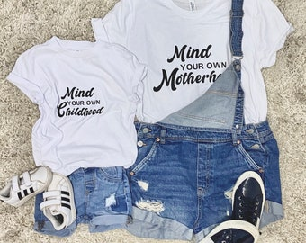 Mind your own Childhood tee or bodysuit