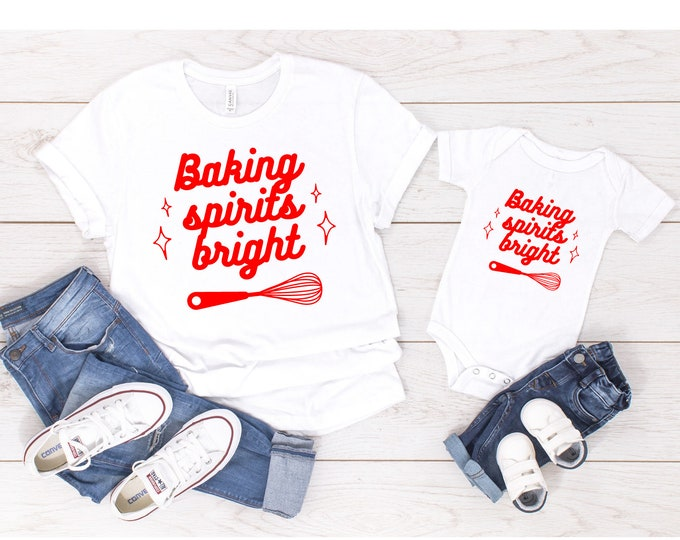Baking Spirits Bright Toddler Tee/Baby Bodysuit
