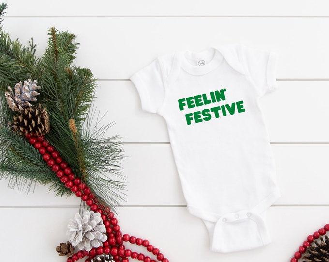 Feelin' Festive Toddler Tee and Bodysuit