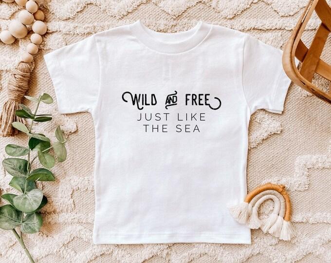 Wild & Free Bodysuit or Toddler Tshirt