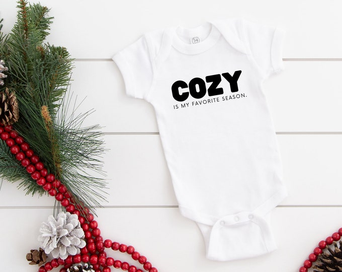 Cozy Season Bodysuit and Toddler Tshirt
