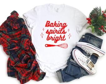 Baking Spirits Bright Unisex tshirt