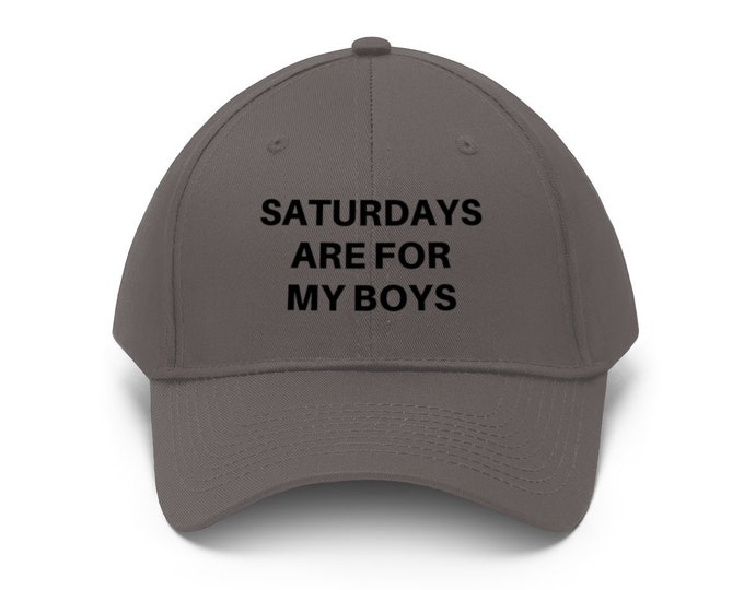 Saturdays are for my Boys hat
