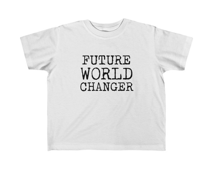 Future World Changer Toddler Tee