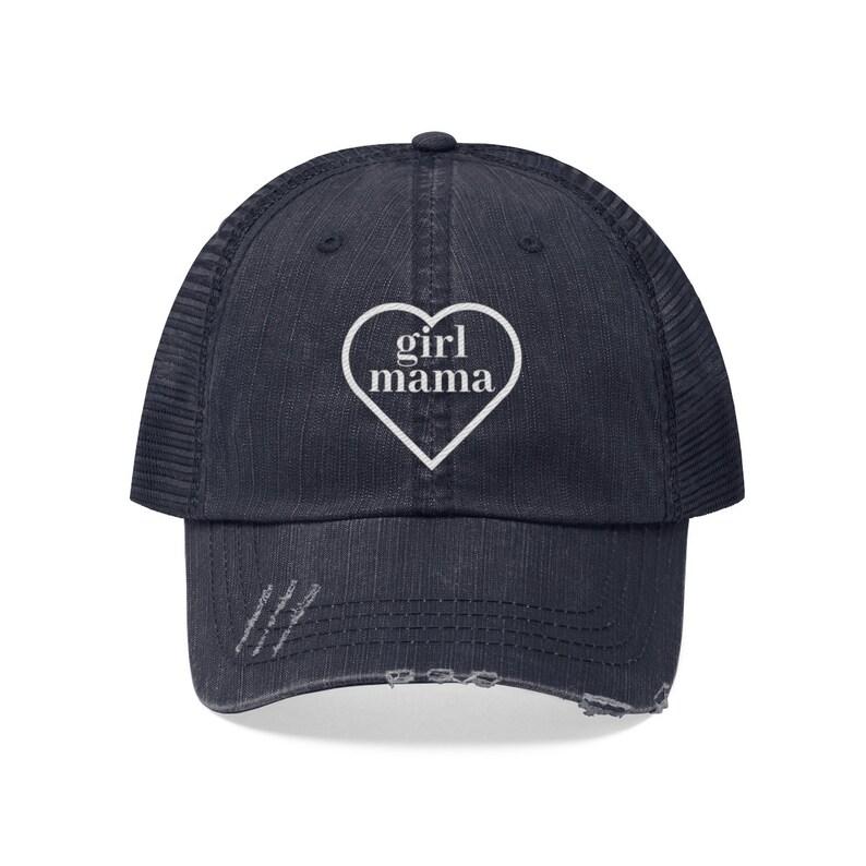 1591970ca Girl Mama Trucker Hat