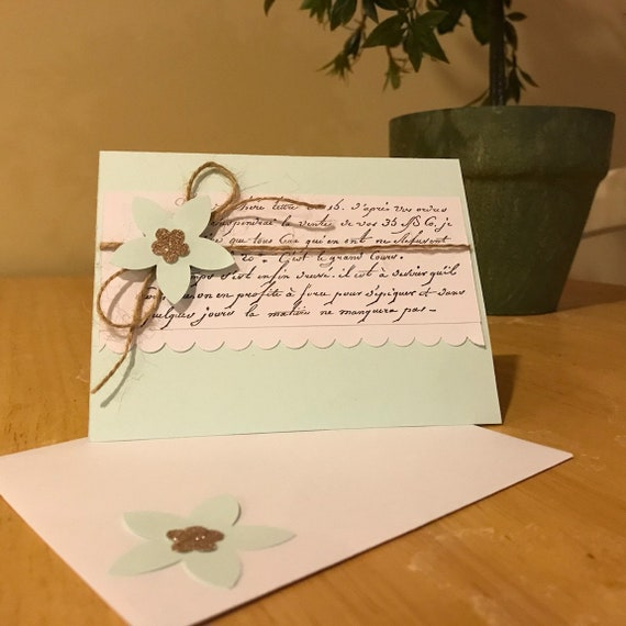 Floral greeting card m4hsunfo