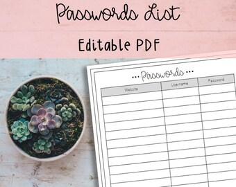 savings account ledger printable and editable pdf budget etsy