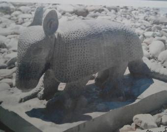 Armadillo grigio bardiglio marble