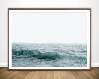 ocean poster etsy