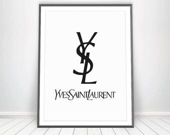 yves saint laurent etsy