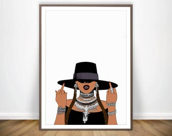Beyonce etsy beyonce print beyonce poster inspirational wall art beyonce lyrics print feminism i slay beyonce formation stopboris Choice Image