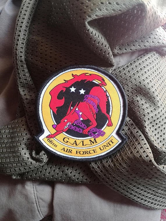 military morale patch Shattered Skies ISAF allied states flag Ace Combat 4