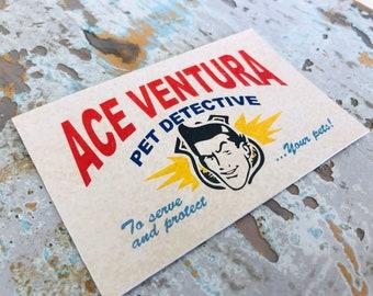 Business Card - Ace Ventura