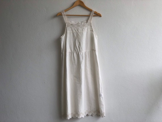 VINTAGE 100% Cotton Pyjamas Dress