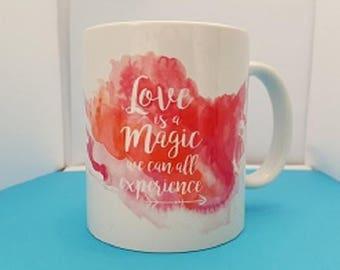 sharethelove Mug Love is Magic Experience