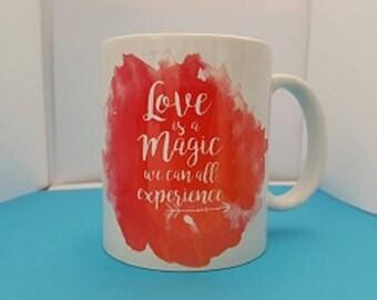 sharethelove Mug Love is magic
