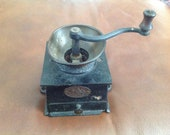 Antique Cast Iron Coffee Grinder No2 by A.Kenrick Son C 1890