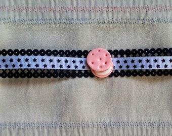 Bracelet 'Pink macaroon'
