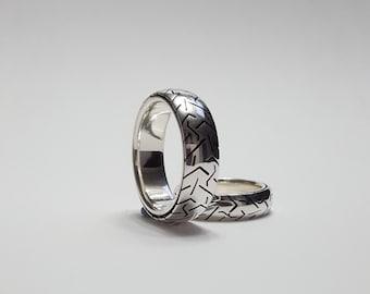 Anillo rueda anillo moto, anillo moto, anillo motero, bikers ring, tyre ring, springers ring, bike ring by lagalgo (no gira)