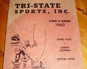 1960s Tri State Sporting Goods Equipment Store Duluth MN ORIGINAL Catalog - Guns, Hunting Man 39 s Outdoor Gift Idea