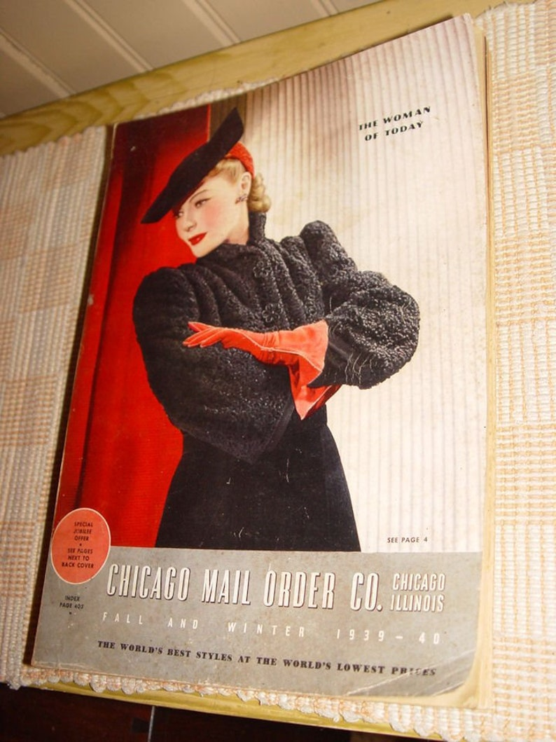 01fc7452df3 Chicago Mail Order Co. The Woman of Today Fall and Winter