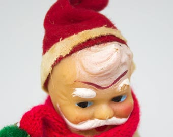 Extremely RARE Celluloid 1940's Knee Hugger Elf Doll MID-Century