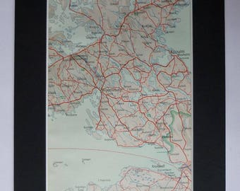 Viborg denmark map | Etsy
