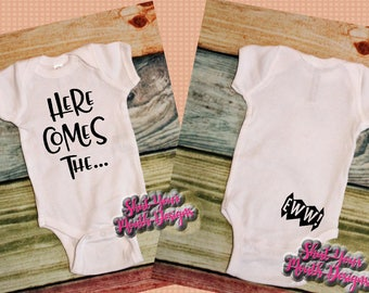 funny baby clothes; newborn outfit; baby girl clothes; baby boy clothes; newborn bodysuit; baby bodysuit; baby shower gift; gender neutral