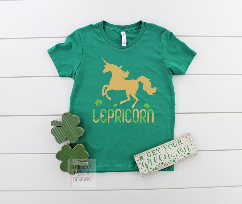 be68d4ba8 Girls St Patricks St Patricks Day Shirt Unicorn Shirt Funny | Etsy