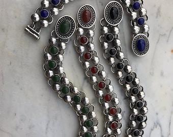 Pompeian Bracelets with Stones
