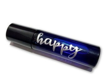 Happy Fragrance Essential Perfume Oil- Strawberry Cucumber Melon Scent- Uplifting Perfume Roller 10 ml