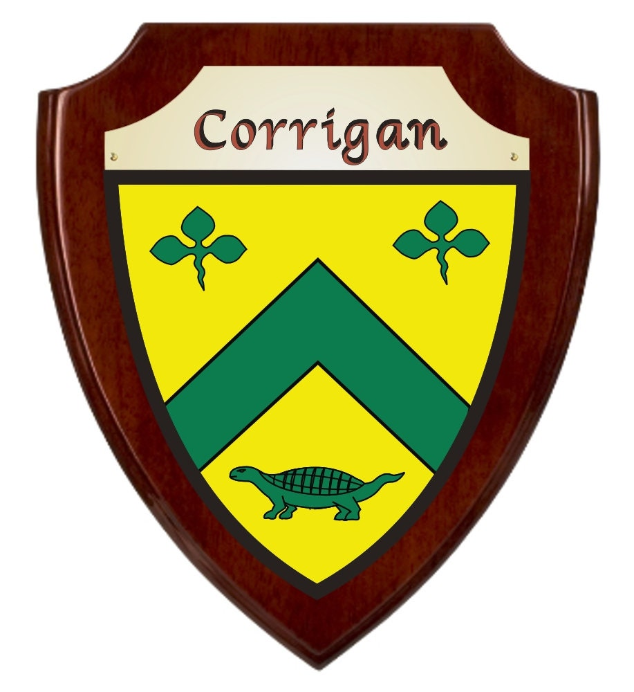 Reynolds Irish Coat of Arms Slate Coasters Set of 4