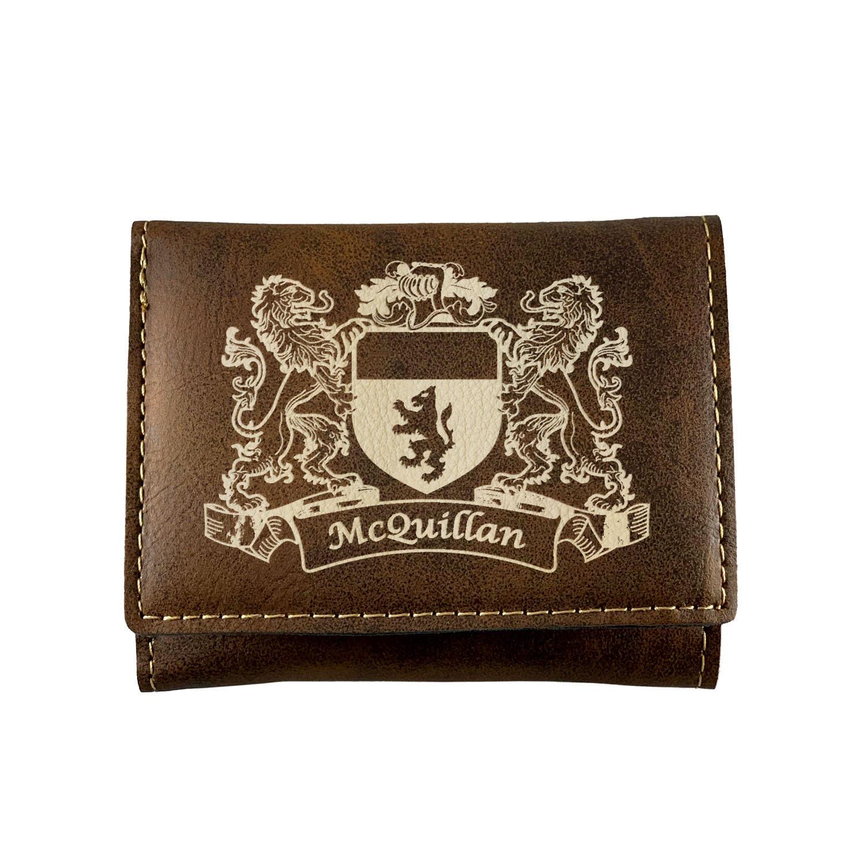Mullan Irish Coat of Arms Leather Passport Wallet