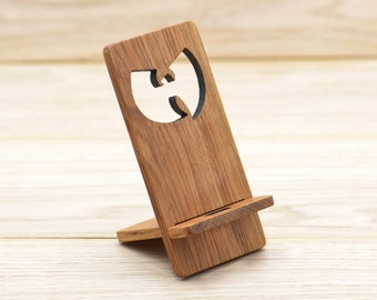 Wu-Tang Clan, smartphone stand, Gift for Wu Tang fan Hip-hop lover phone stands, phone charging stand, smartphone charging stand, gift for