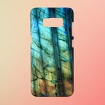 Labradorite Mineral Phone Case for apple iphone, samsung galaxy, and google pixel