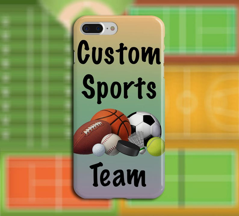 Sports Personalized Custom Phone Case for iPhone Galaxy Note image 0