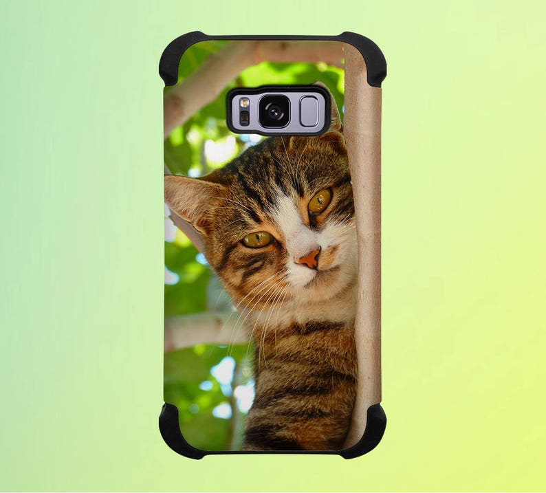 Cat in a Tree Phone Case for iPhone Galaxy Note & Pixel image 0