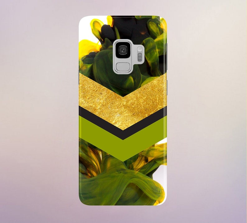 Golden Green phone case for apple iphone samsung galaxy and image 0