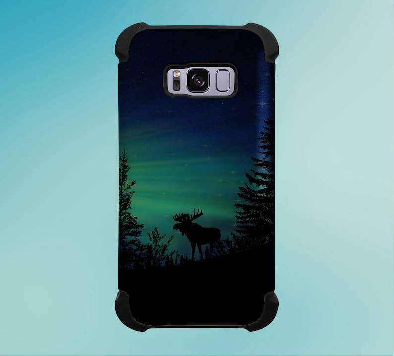 Moose Aurora Atmosphere Phone Case for iPhone Galaxy Note & image 0