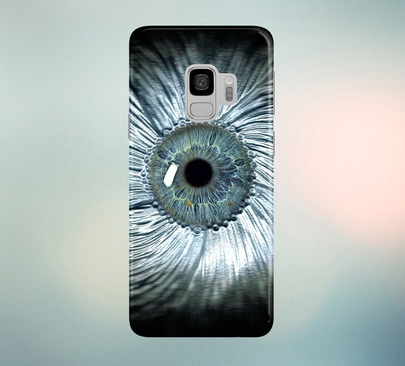 Clear Eye View Phone Case for apple iphone samsung galaxy image 0