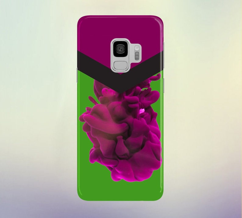 Magenta Flow Phone Case for apple iphone samsung galaxy and image 0