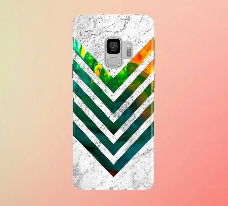 Marble chevron for apple iphone samsung galaxy and google image 0