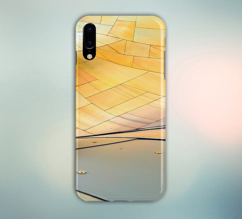 Unique Metal Panel Structure Phone Case for iPhone Galaxy image 0