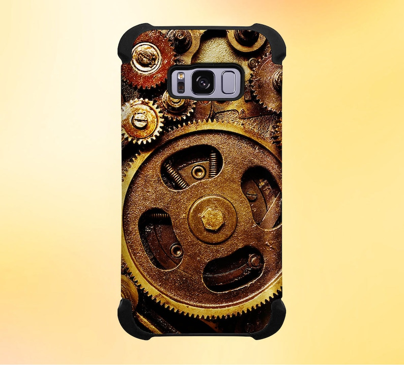 Steampunk Gears Phone Case for iPhone Galaxy Note & Pixel image 0