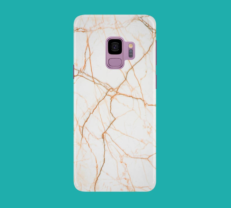 Rose Gold Marble Phone Case for apple iphone samsung galaxy image 0
