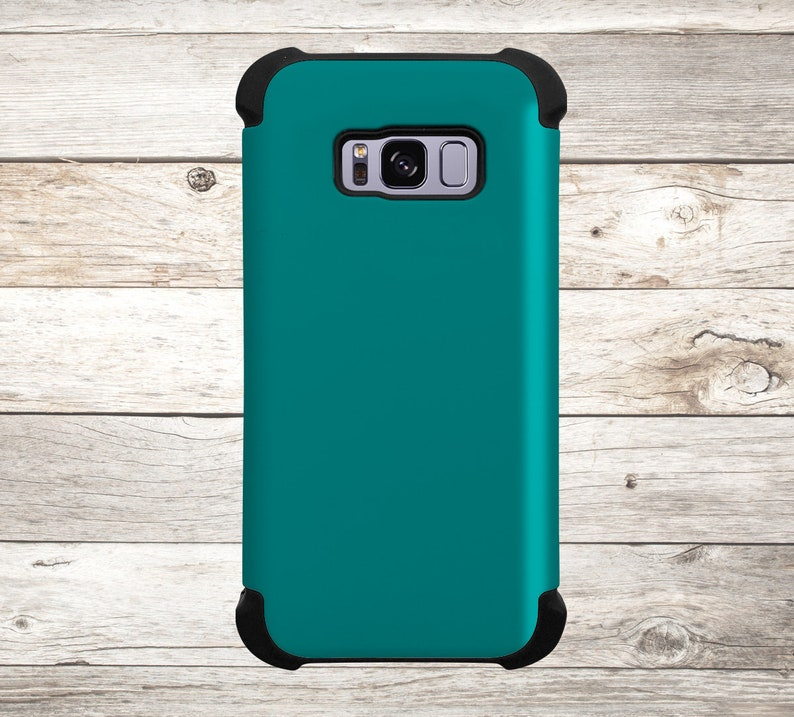 Solid Color Teal Phone Case for apple iphone samsung galaxy image 0