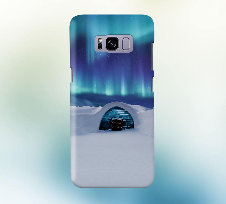 Aurora Icy House Phone Case for iPhone Galaxy Note & Pixel image 0