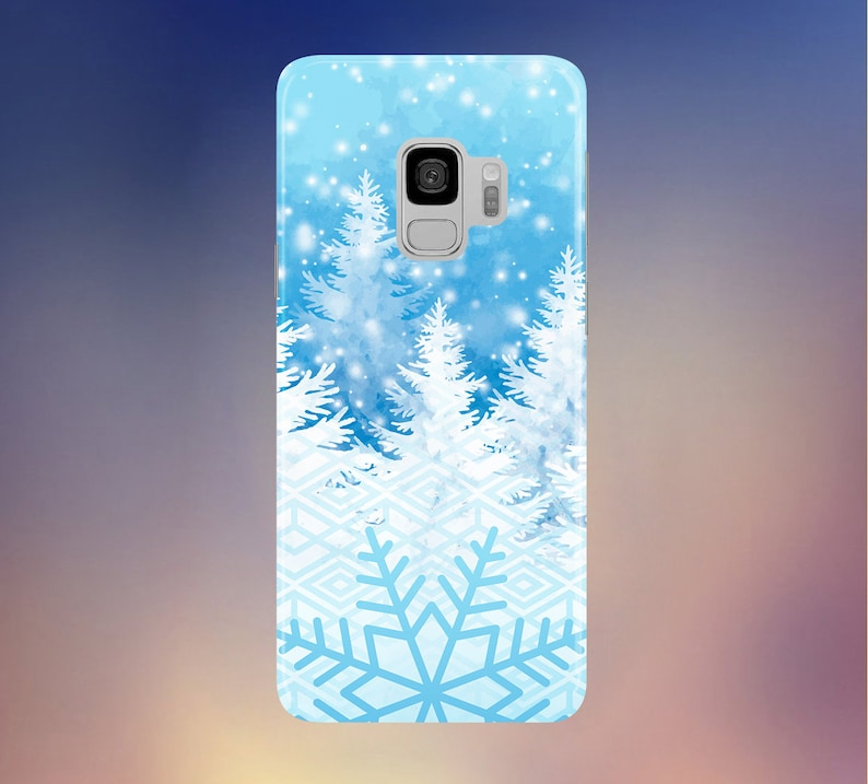Winter Wonderland x Let it Snow Phone Case for Apple iPhone image 0